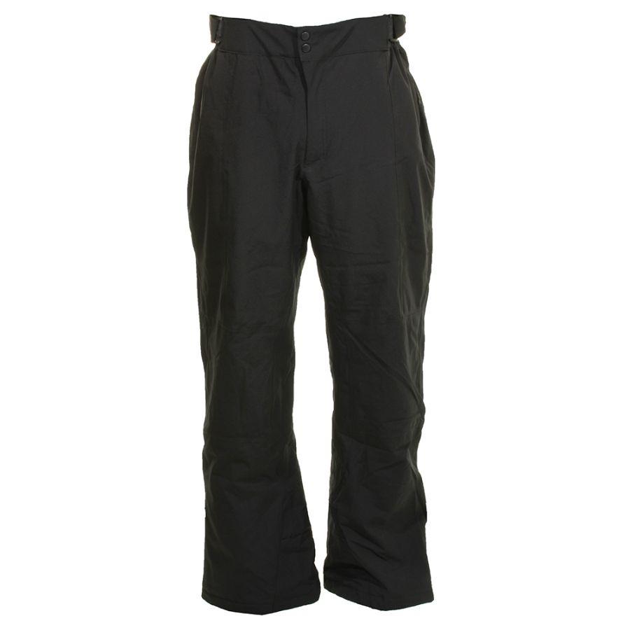 Deluni ski pants in large sizes, black