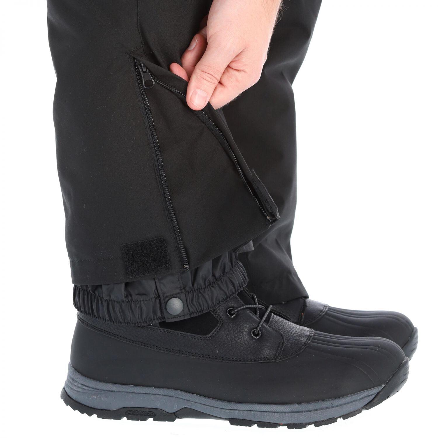 Deluni ski pants, plus size, black