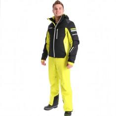 Deluni ski set, men, black/yellow