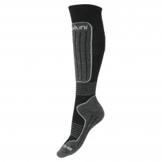 Deluni junior ski socks, 1 pair, black