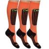 Deluni ski socks - 3 pairs, black