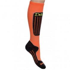Deluni ski socks, 1pair, orange