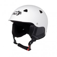 Demon Action ski helmet, white/black