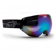 Demon Alpiner ski goggle, black/red