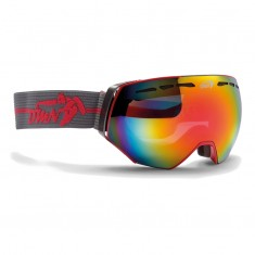 Demon Alpiner ski goggle, grey/red