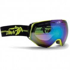 Demon Alpiner goggle, yellow