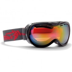 Demon Bubble OTG ski goggle, black/grey