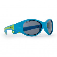 Demon Bunny, sunglasses for kids, blue