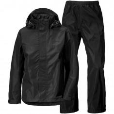 Didriksons Grand, Rain Suit, junior, black