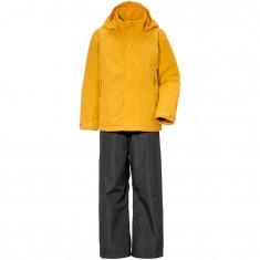 Didriksons Grand, Rain Suit, junior, oat yellow