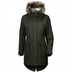 Didriksons Meja parka, women, dark green