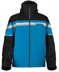DIEL Danny ski jacket, mens, black/blue
