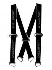 DIEL Elastic Suspenders, black