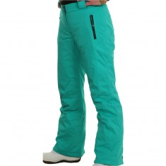 DIEL Livigno womens ski pants, green