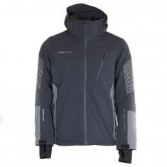 DIEL Samuel, ski jacket, men, black