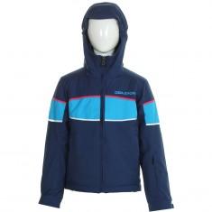DIEL Sestriere, kids ski jacket, blue