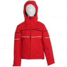 DIEL Sestriere, kids ski jacket, red