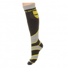 DIEL technical ski socks, yellow