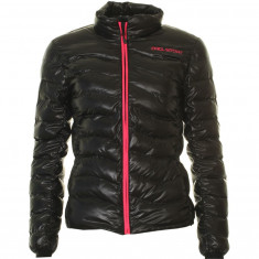 DIEL Womens artificial down jacket, black/pink