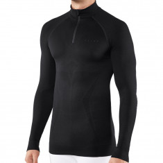 Falke Long Sleeved Shirt Maximum Warm, men, black