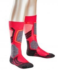 Falke SK2 ski socks, Kids, red