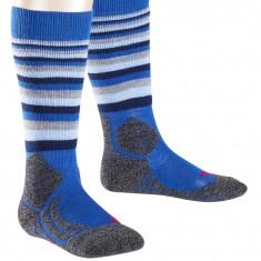 Falke SK2 Trend  ski socks, kids, blue