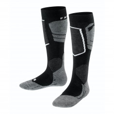 Falke SK4, ski socks, kids, black