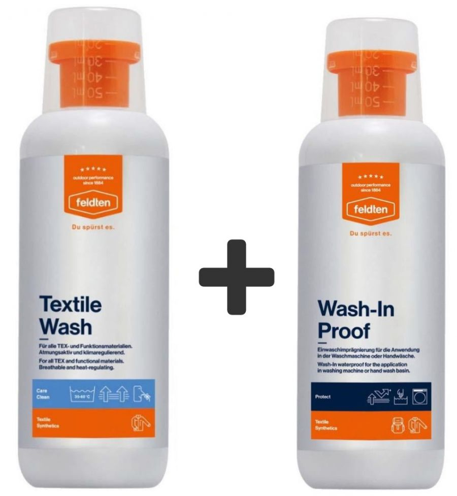 Feldten  wash + impregnation package 2x500 ml