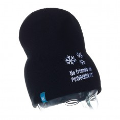 Grand Dog,No friends on powderdays beanie