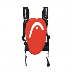 Head Flexor JR vest, back protector, red/black