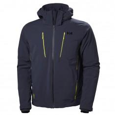 Helly Hansen Alpha 3.0 ski jacket, mens, graphite blue
