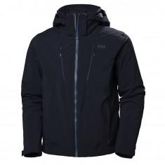Helly Hansen Alpha 3.0 ski jacket, mens, navy