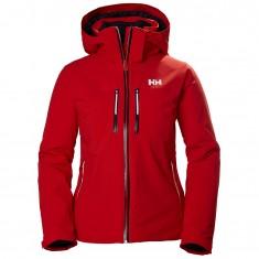 Helly Hansen Alphelia Lifaloft ski jacket, women, alert red