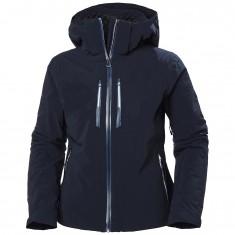 Helly Hansen Alphelia Lifaloft ski jacket, women, navy