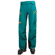 Helly Hansen Backbowl Cargo mens ski pants, green