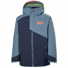 Helly Hansen Cascade ski jacket, junior, blue