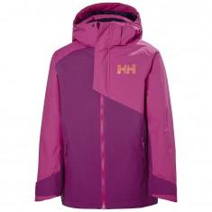 Helly Hansen Cascade ski jacket, junior, fuchsia