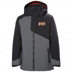 Helly Hansen Cascade ski jacket, junior, quiet shade