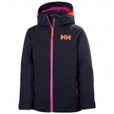 Helly Hansen Crystal ski jacket, junior, navy