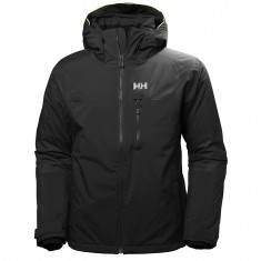 Helly Hansen Double Diamond Ski Jacket, Mens, black