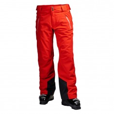 Helly Hansen Force ski pants, mens, flag red