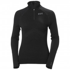 Helly Hansen H1 Pro Lifa Seamless 1/2 zip, women, black