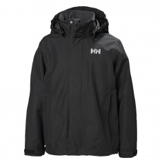 Helly Hansen JR Seven J Rain Jacket, black