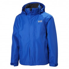 Helly Hansen JR Seven J Rain Jacket, blue