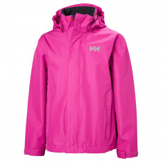 Helly Hansen JR Seven J Rain Jacket, pink