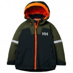 Helly Hansen K Legend ins jacket, kids, scarab green