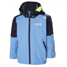 Helly Hansen K Shelter, Rain jacket, cornflower