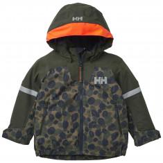 Helly Hansen Legend ins jacket, kids, olive aop