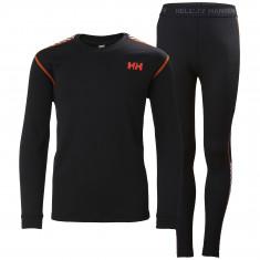 Helly Hansen Lifa Active set, junior, black