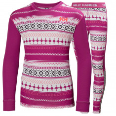 Helly Hansen Lifa Active set, junior, fuchsia